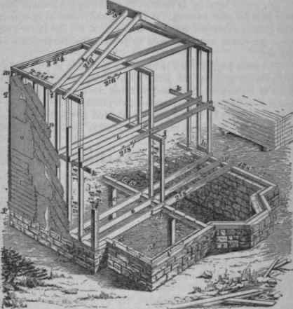 Ballon frame maison en bois construire acheter for Acheter maison ossature bois