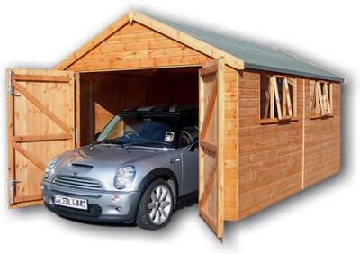 garage en bois maison en bois construire acheter